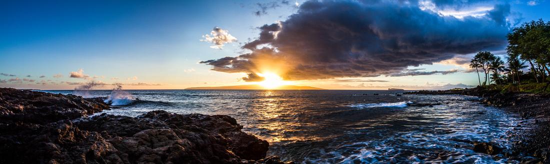 Sunset over Kaho'olawe